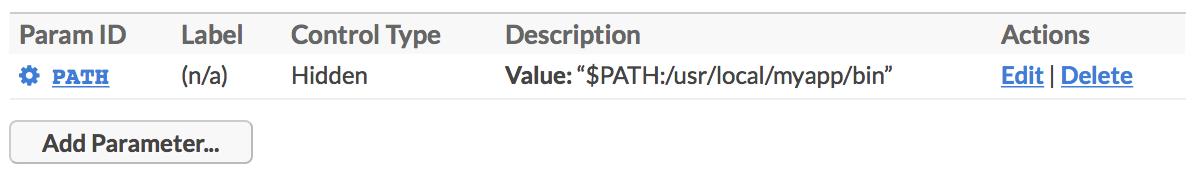 Edit Plugin PATH Inline Example