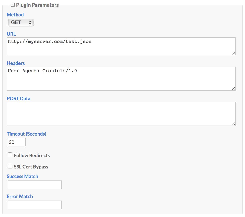 HTTP Request Plugin